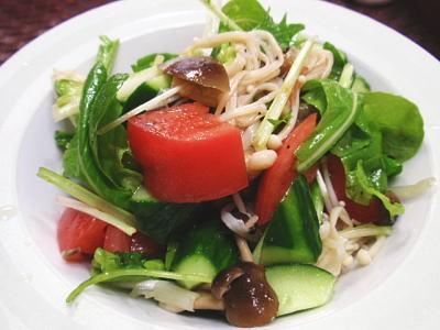 茄子ときのこの簡単マリネ&マリネサラダ(レシピ付)