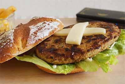 びっくりドンキーの300gハンバーグで手作りハンバーガー