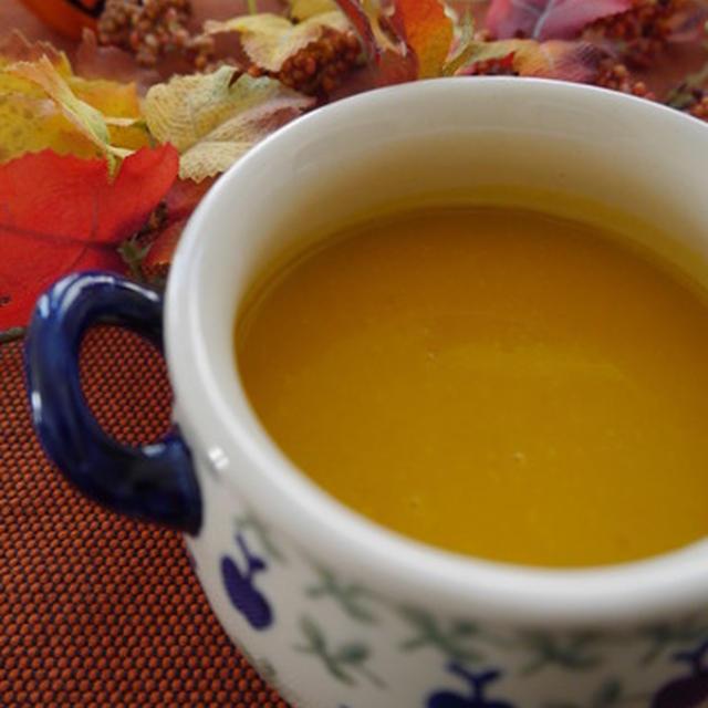 あま~い!温まる~♡ かぼちゃのスープ