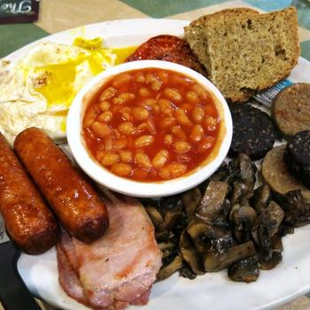これがアイルランドの典型的な朝食?