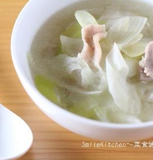 レシピ【超簡単!!疲労回復&血液サラサラ!!豚肉とWねぎの中華風スープ】&サングラス
