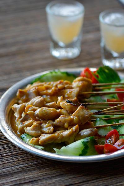 火不要♥トースターdeインドネシア♥アヤム・サテ【#焼き鳥 #世界の料理 #超簡単】手仕事3分 あとはほっとけ