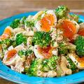 【レシピ】ブロッコリーとマカロニのおかかツナマヨサラダ