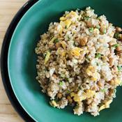 簡単納豆炒飯