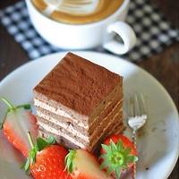 断萌えバレンタイン♪カルダモン風味のチョコケーキ
