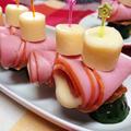 【レシピ】3色ピンチョス!~身近な食材で☆簡単☆おつまみにも☆オードブルにも~