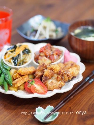 作り置きで和ンプレートな夕飯♡と、レシピブログmagazine Vol,13冬号予約開始