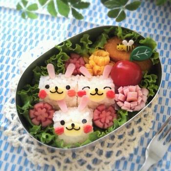 キャラ弁日記☆俵なウサギちゃん弁当&将来アイドルになったら…w