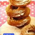サクサク卵ドーナッツ