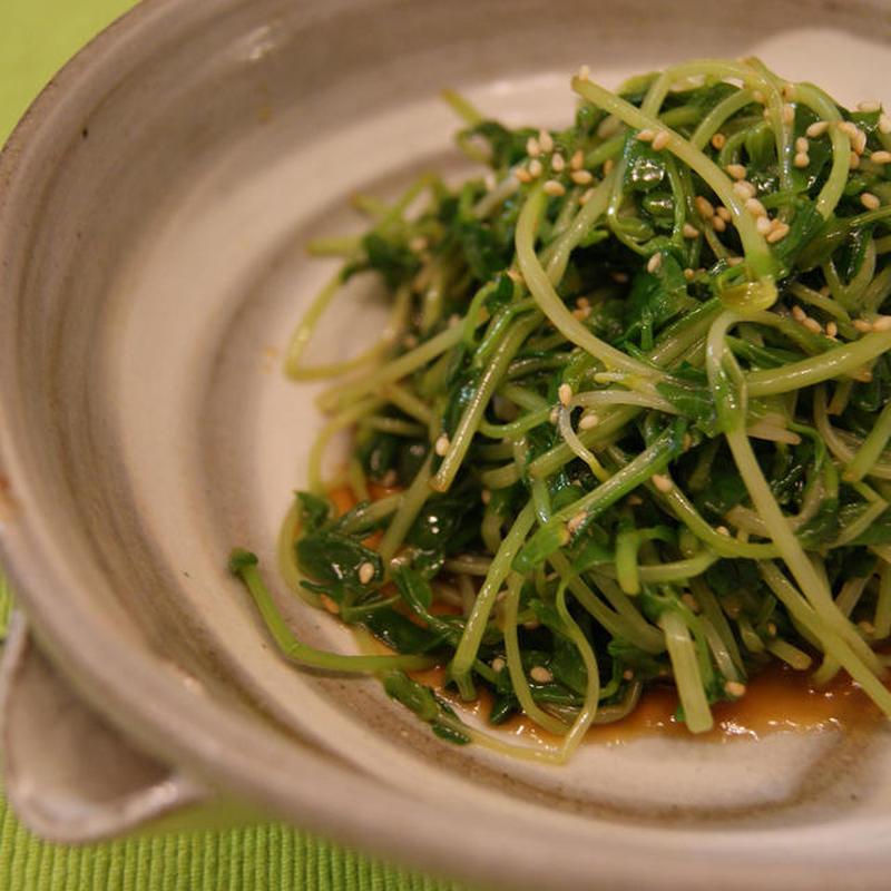 リーズナブルな野菜のおかず「豆苗のおひたし」5選