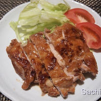 タカラ本みりんで鶏もも肉の照り焼き