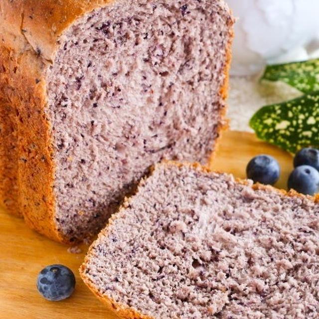 ブルーベリーのふんわりミルク食パンレシピ