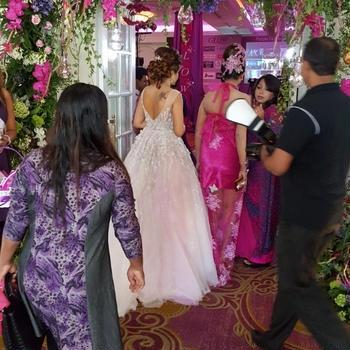 スリランカでセレブ体験 ファッションショー