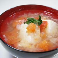 『豆腐とトマトのみぞれ煮』10分で作れる「白だし」レシピ
