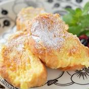 バニラ&ホワイトチョコで作る「甘さ控えめフレンチトースト」