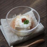 ■【ヤマキだし部】長芋とかつお節の梅だし豆腐♪