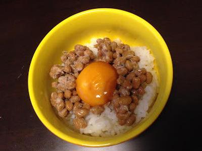 黄身を醤油に漬けこんだら ~soak egg yolk in soy source