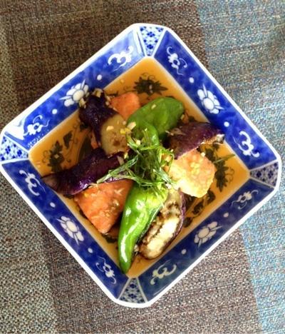 ワンフライパン☆鮭の和中華風