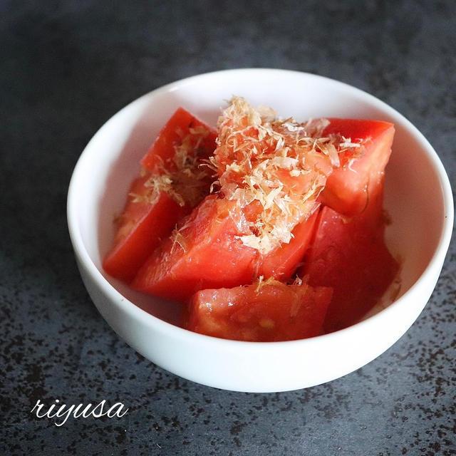 【簡単過ぎてごめんなさいレシピ】5分で絶品旨トマト