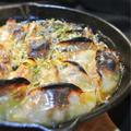 牛ケバブ風、餃子の煮込み