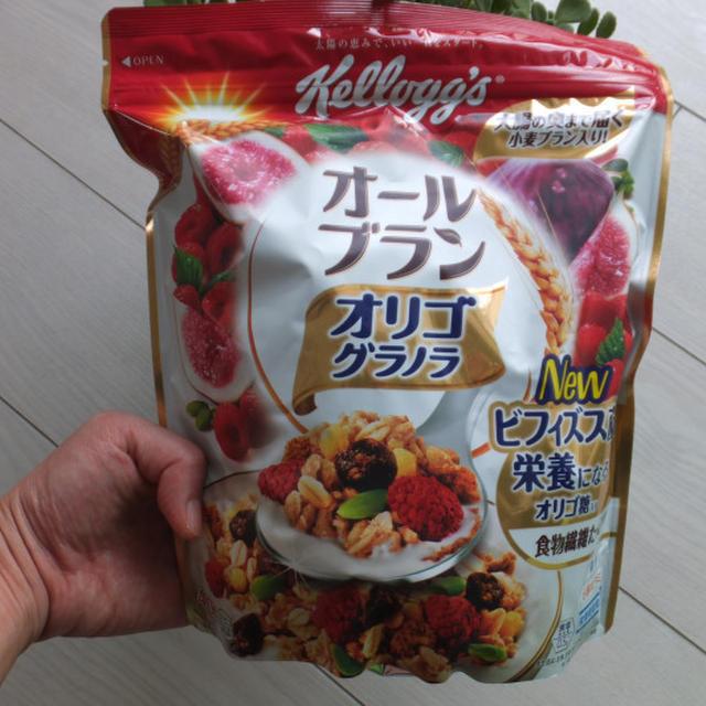 ☆ケロッグ オールブラン オルゴグラノラ☆を使った料理