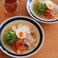 ちょい足しで♪マルちゃん正麺塩味を韓国風冷麺に!