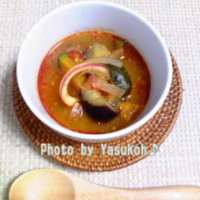 夏祭り☆やっぱり夏に食べたい!エスニック料理☆やっこ♪流トムヤムクン☆