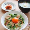 「スタミナ豚丼」リビング新聞連載