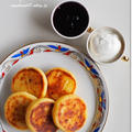 カッテージチーズのおやき シィールニキ сырники
