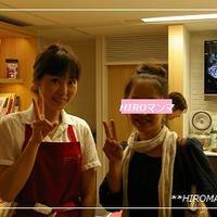 レシピブログイベント参加deかな姐さんとツーショット♡