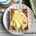 冷凍作り置きトースト~アボカド海苔佃煮トースト
