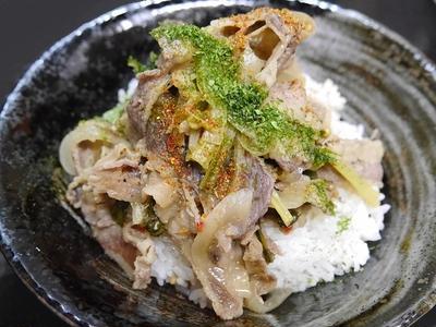 ★ 簡単牛煮丼&カレーナス