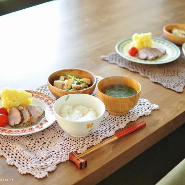 豚ひれのハーブソテーとタコとゴーヤのガーリックチャンプルー、桃を食べたのは誰?