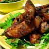 鶏手羽中の中華風ロースト