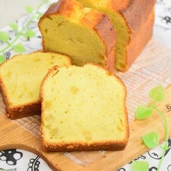 【cottaレシピ】栗きんとんのパウンドケーキ