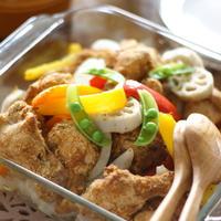 鶏手羽と野菜のオーブン焼き
