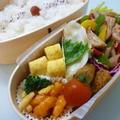 6月19日 豚肉のカラフルオイソース炒め弁当 by カオリさん