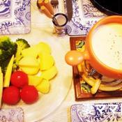 豆乳入りチーズフォンデュ
