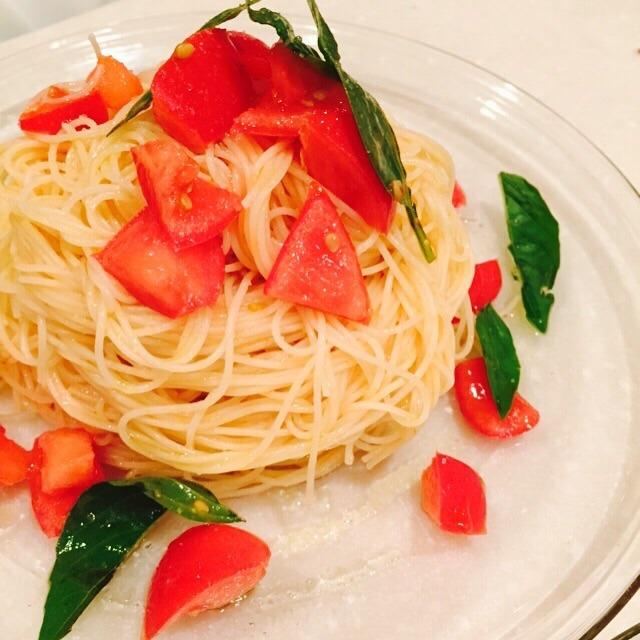 フルーツトマトのカッペリーニ