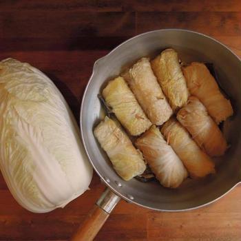 白菜と薄揚げの簡単お惣菜