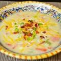 【アメリカの家庭料理 ベークドポテトスープ】
