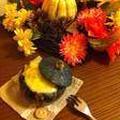 【ハロウィン】丸ごとかぼちゃグラタン