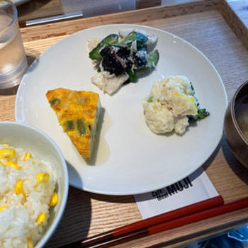 カフェ&ミール ムジ 渋谷西武/ヘルシーな野菜の総菜でランチ