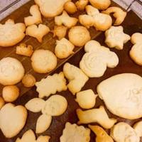 ももたんのクッキー作り♪