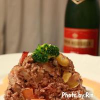 PIPER-HEIDSIECKと野菜たっぷりミートローフ