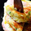 ズッキーニのふわふわパンケーキ