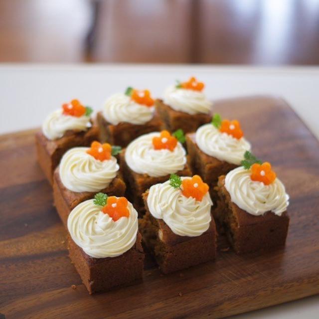 本格派から簡単レシピまで12選。キャロットケーキを自宅で作ろう!の画像