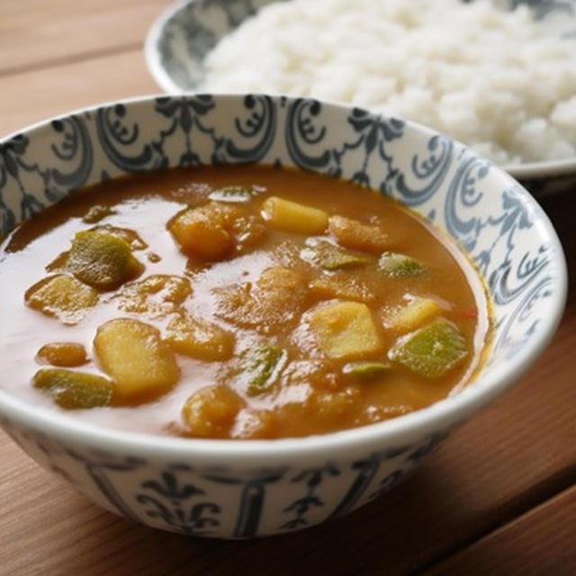 小えびのピリ辛中華風カレー