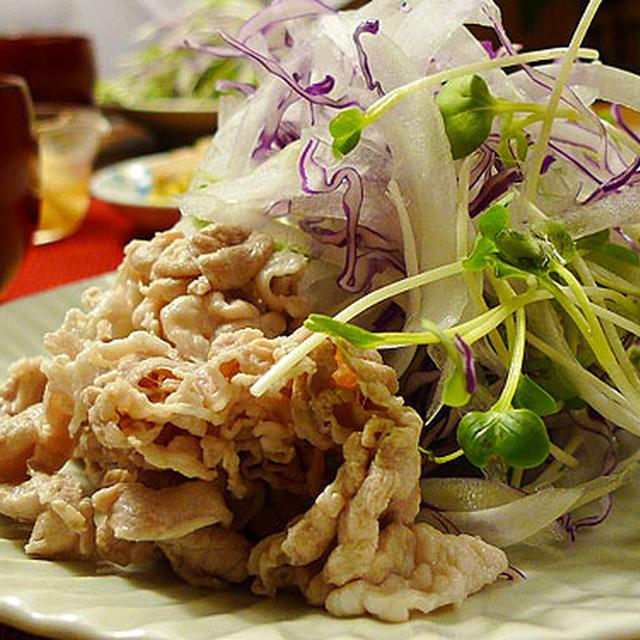 ☆豚しゃぶサラダ