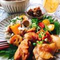 簡単!鶏肉と蓮根の黒酢煮(動画有)